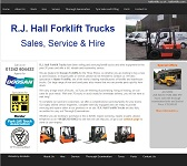 R.J. Hall Forklift Trucks
